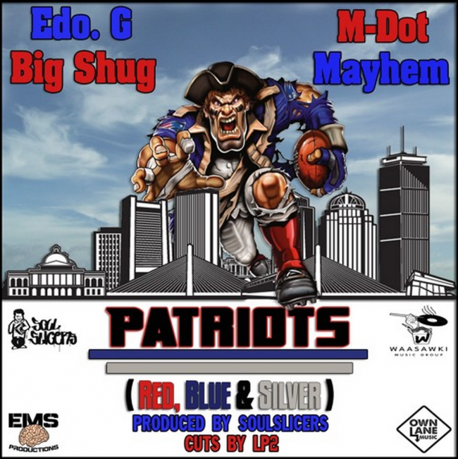 "Mayhem (EMS) ""Patriots"" feat. Edo G, M-Dot, & Big Shug"