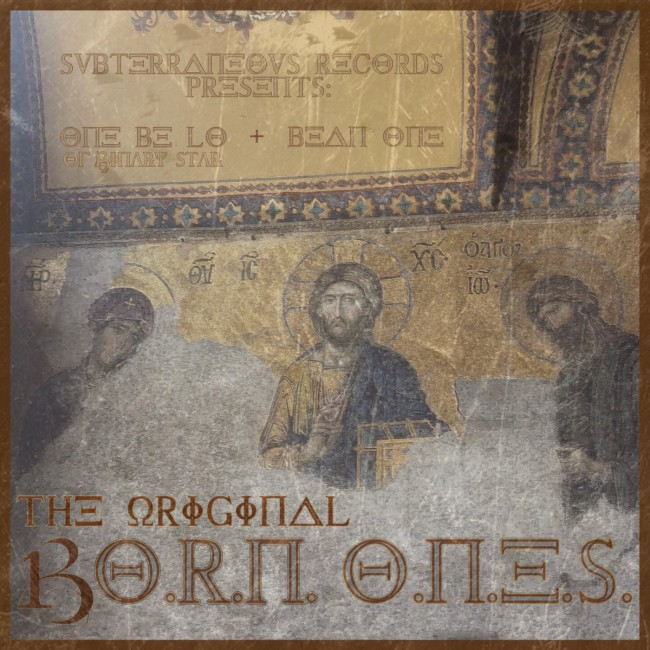 """One Be Lo & Bean One """"The Original Born Ones"""""""